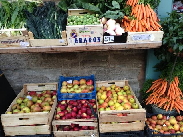 Local fruit and veg, Hay-on-Wye