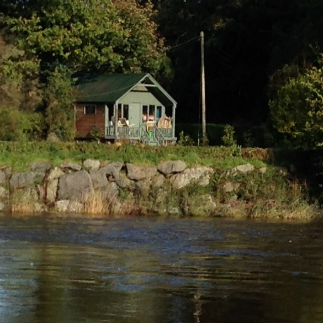 Across the river, Hay-on-Wye